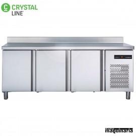 Mesa snack refrigerada 3puertas CLMR20003