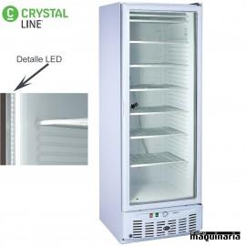 Congelador puerta cristal CLAC320BLPV