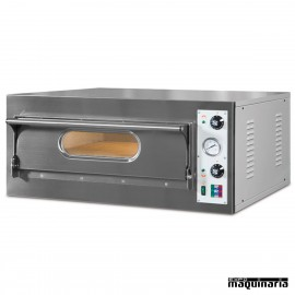 Horno pizza 6 - Ø33 7 kw. NIGL940