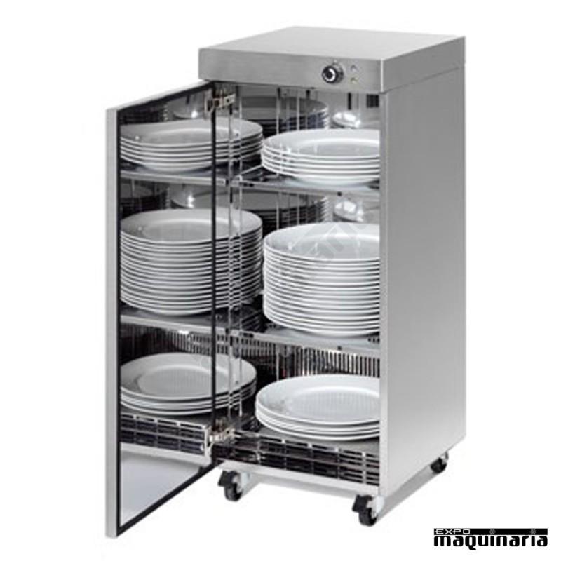 Calienta platos acero inoxidable rmvbox60 for Soporte platos cocina