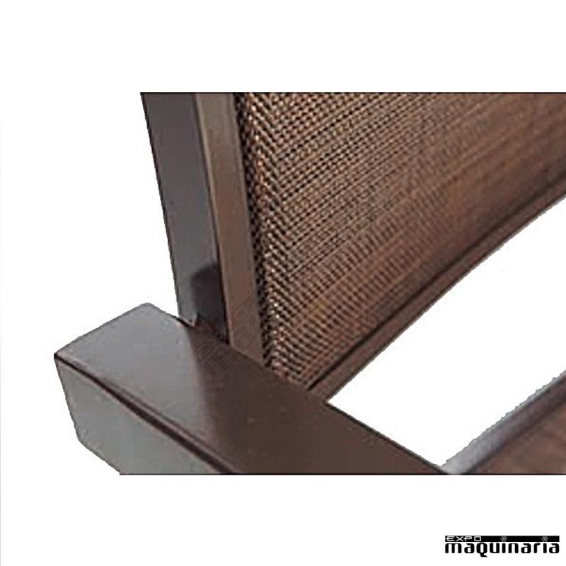 Conjunto jard n agcoral de aluminio y textiline for Conjuntos de jardin en aluminio