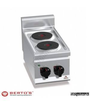 Cocina eléctrica 2 fuegos RME6P2B