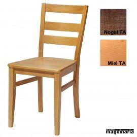 Silla madera LB-Mia