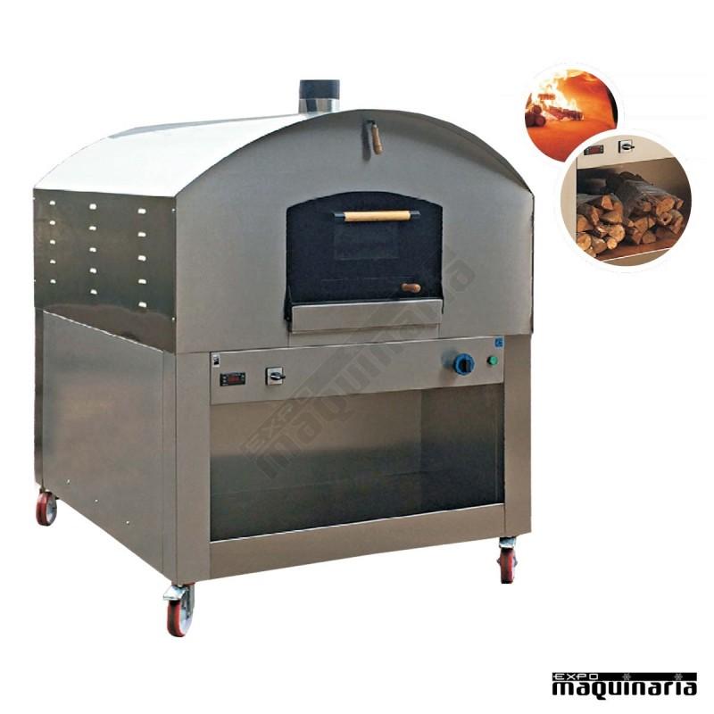 Horno le a nthl105 fabricado en acero inox - Calentar horno de lena ...