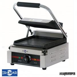 Plancha grill eléctrica con placa de hierro IRGR220LL