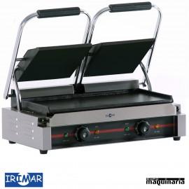 Plancha grill eléctrica placa de hierro IRGR475LL