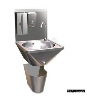Lavamanos de pared acero inox FR061406