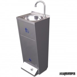 Lavamanos acero inox. de pie FR061426