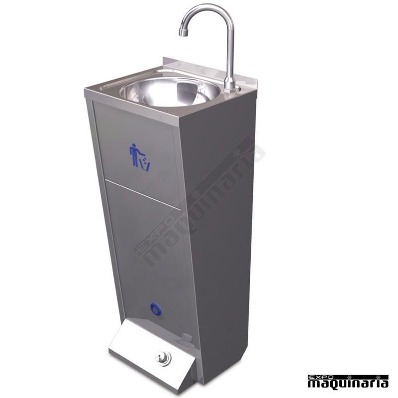 Lavamanos de pie de acero inoxidable 061426 for Lavabo de acero inoxidable