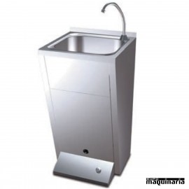 Lavamanos industriales de pie con pulsador FR061012