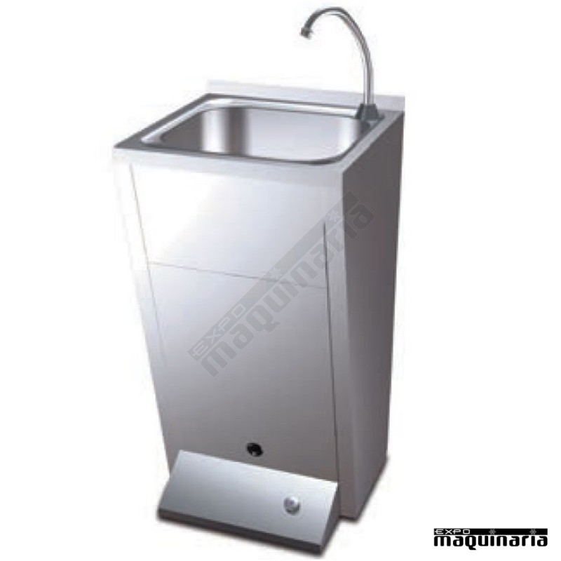 Lavamanos industriales de pie con pulsador fr061012 - Grifos de cocina de pared ...