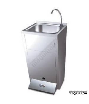 Lavamanos INOX de pie con doble pulsador FR061014