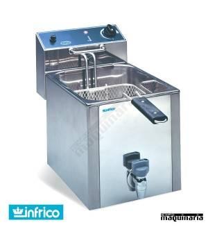 Freidora eléctrica INFR10LGT 10 litros