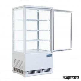 Vitrina frigorífica vertical NICB507 de 86 litros