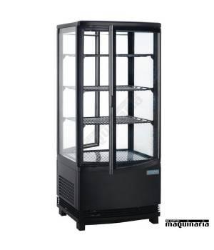 Vitrina frigorífica vertical NIDP288 de 86 litros