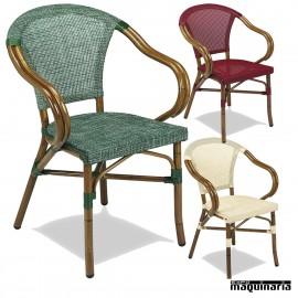 Mobiliario de terrazas sillones de medula for Sillon terraza madera
