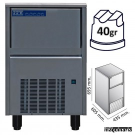 Maquina de Hielo ITV ORION30 (ECO) cubito 40g