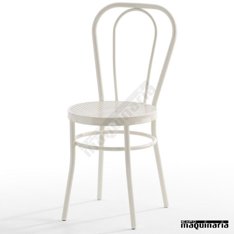 Silla de interior isdido1 con asiento de rejilla for Asientos para sillas