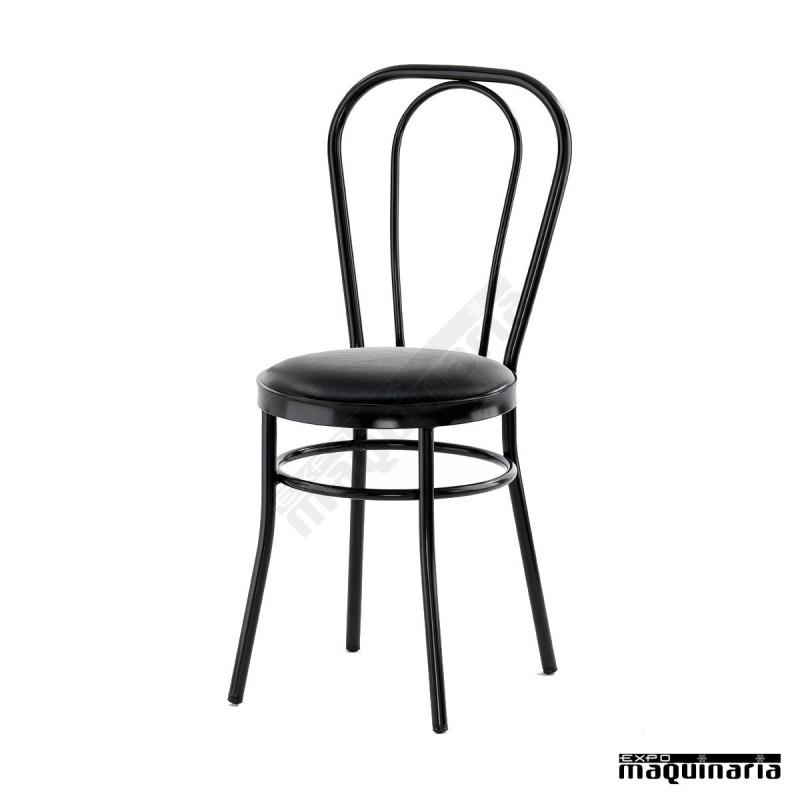 Silla de bar isdido2 con asiento tapizado para interior - Tapizado de silla ...