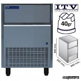 Maquina de Hielo ITV ORION60 (ECO) cubito 40g