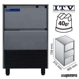 Maquina de Hielo ITV DELTA-NG30 cubito 40g