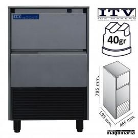 Maquina de Hielo ITV DELTA-NG35 cubito 40g