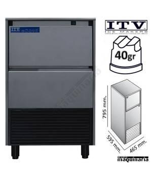 Maquina de Hielo ITV DELTA-NG45 cubito 40g
