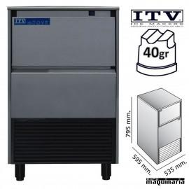 Maquina de Hielo ITV DELTA-NG60 cubito 40g
