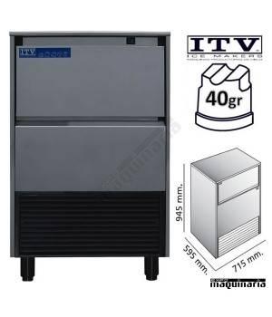Maquina de Hielo ITV DELTA-NG80 cubito 40g