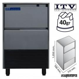 Maquina de Hielo ITV DELTA-NG110 cubito 40g
