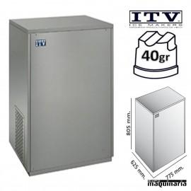 Maquina de Hielo ITV DELTA-NG150 cubito 40g