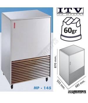 Maquina de Hielo ITV PULSAR145 cubito 40g