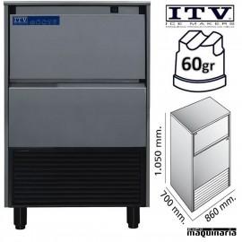 Maquina de Hielo ITV SUPERSTAR-NG110 cubito 60g
