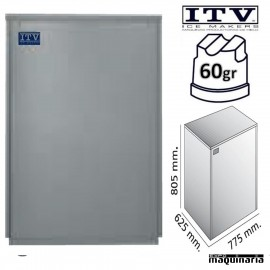 Maquina de Hielo ITV SUPERSTAR-NG150 cubito 60g