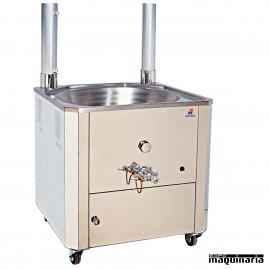 Fogón a gas profesional de churros MA-FG70 de 14L