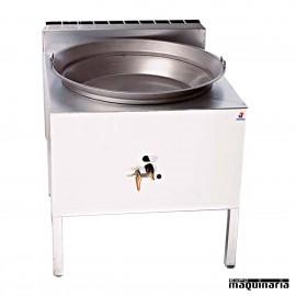 Fogón churreria de hierro a gas MA-FH70A de 70 cm