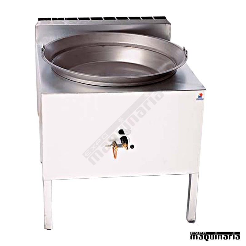 Fog n churreria a gas para 22 l mafh80a con sarten for Fogones industriales a gas