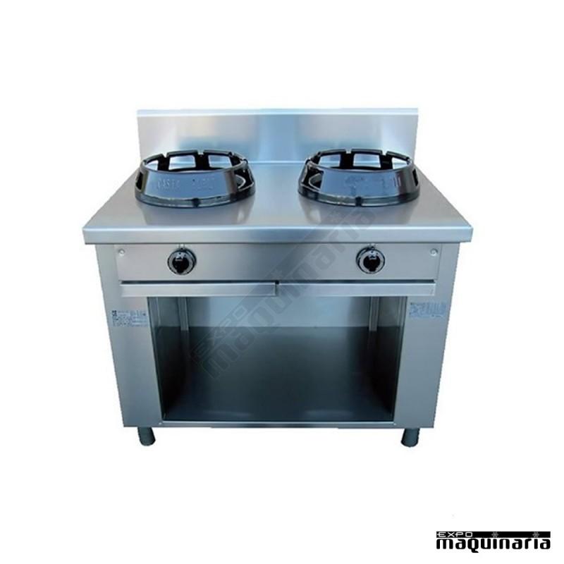Cocina wok china hosteleria eu505020 para la cocina china for Cocina wok industrial