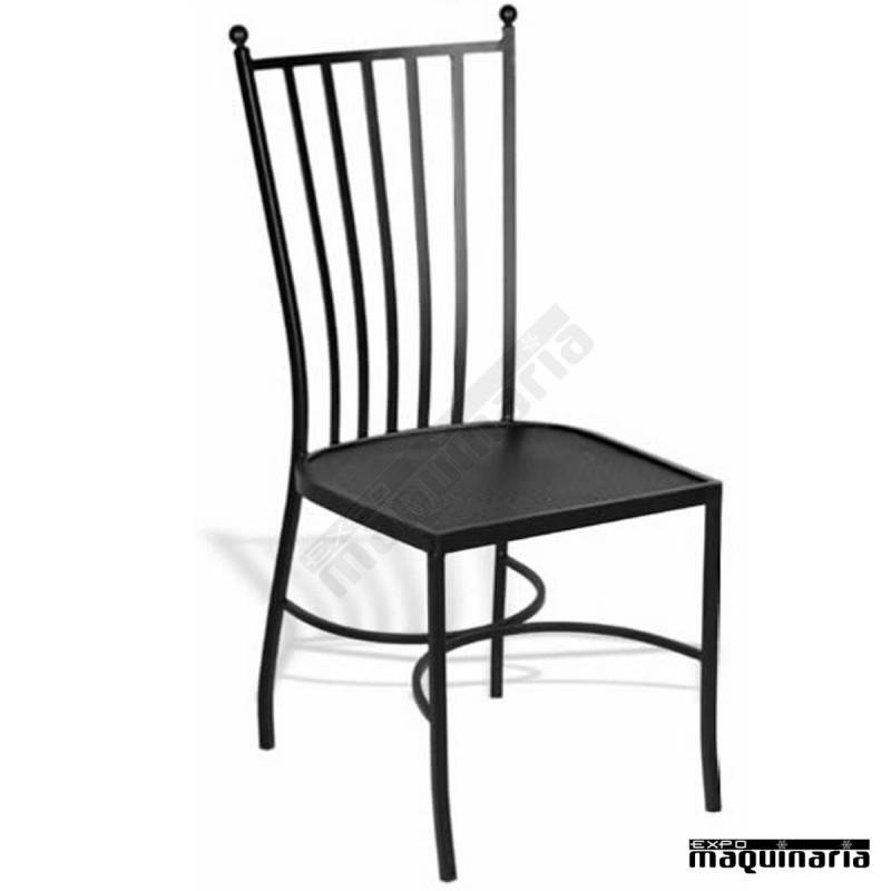 Mobiliario de hosteleria sillas de bar apilables share - Mobiliario de forja ...