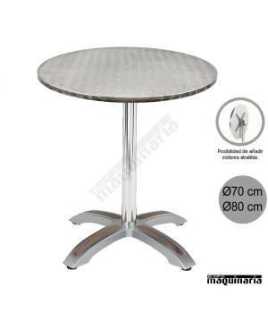 Mesa con armazón de Aluminio 404
