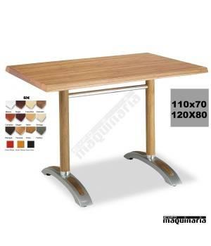 Mesa con armazón de Aluminio 408