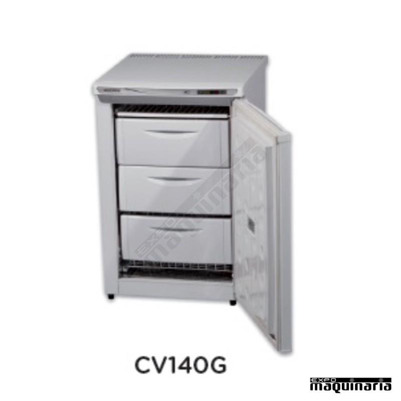 Congelador vertical phcv140g 3 cajones exterior en chapa - Arcon congelador vertical ...