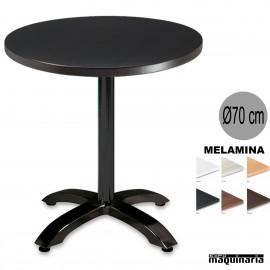 Mesa melamina 3R54MER redonda