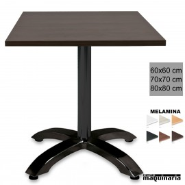 Mesa cuadrada bar 3R54MEC
