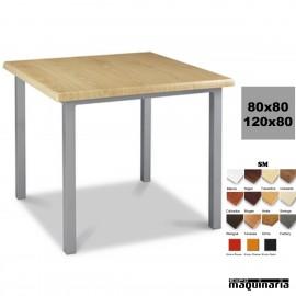 Mesa con armazón de Aluminio 412