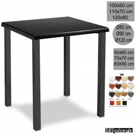 Mesa de bar 3R04SMC apilable