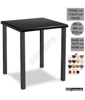 Mesa de bar 3R04SMC apilable