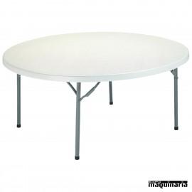 Mesa redonda de catering 3R11 (160 cm)