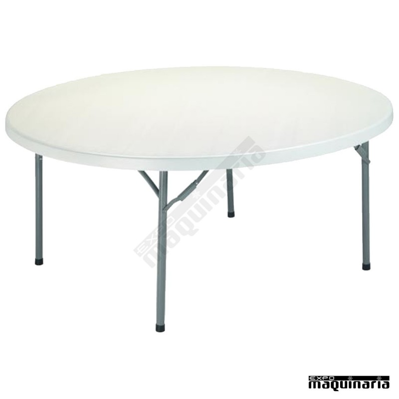 Mesa redonda de catering 3r11 plegable interior hosteler a for Mesa plegable redonda