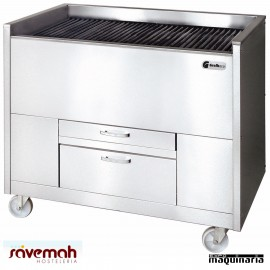 Barbacoa carbón vegetal SVCAVE600125